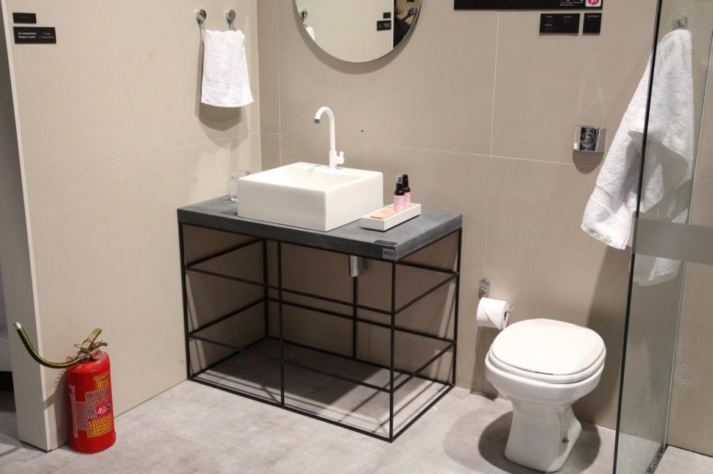 bancadas de porcelanato para banheiro