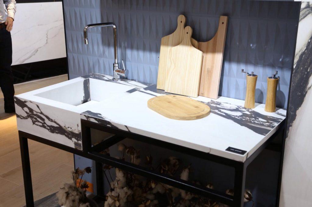 bancadas de porcelanato para cozinha
