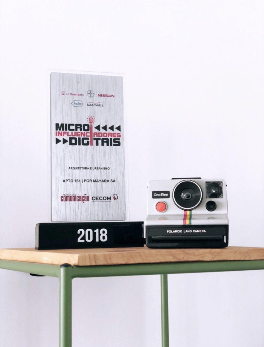 Ganhamos o prêmio Micro Influenciadores Digitais 2018
