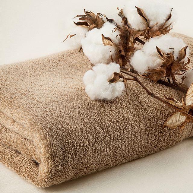 toalha unika marrom com algodão para spa em casa