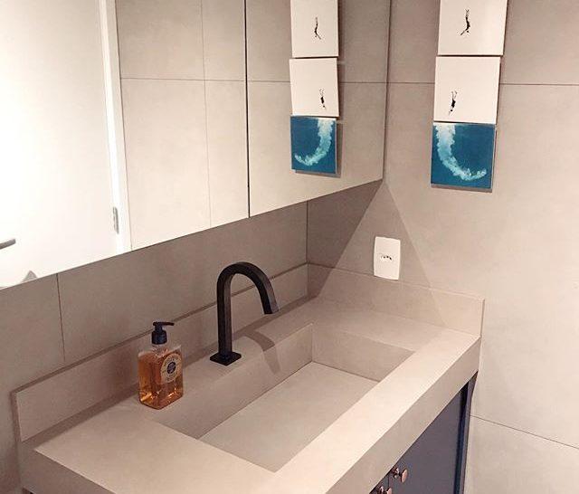 decoração de lavabo apto161